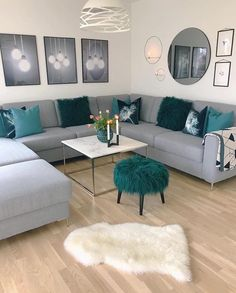 Perfect Modern Living Room Decor Ideas And Remodel Colourful Living Room, Living Room Decor Cozy, Elegant Living Room, Beautiful Living Rooms, Living Room Grey, Living Room Modern, Living Room Interior, Home Living Room, Apartment Living
