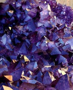 Purple crystals...