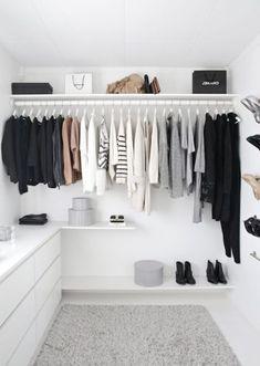 como diseñar un vestidor