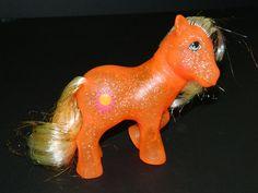 My Little Pony Vintage G1 Sunspot (Glitter/Sparkle Ponies) [1b] #Hasbro