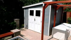 Nyugalom szigete Garden Shed Diy, Diy Garden Decor, Garden Design, Outdoor Structures, Outdoor Decor, Home Decor, Decoration Home, Room Decor, Landscape Designs