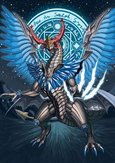 Kamen Rider Wizard, Kamen Rider Series, Fantasy Creatures, Mythical Creatures, Mythical Dragons, Jurassic World Dinosaurs, Cool Dragons, Dragon Artwork, Dragon Rider