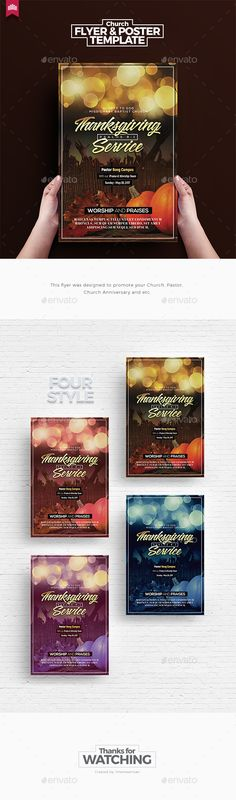 Thanksgiving Service  Church Flyer Template — Photoshop PSD #sunday #sermon • Download ➝ https://graphicriver.net/item/thanksgiving-service-church-flyer-template/19977906?ref=pxcr