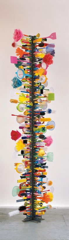David Batchelor - Parapillar 7 (Multicolour) Fly Swatters, Dusters and other everyday items