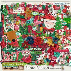 Santa Season by Clever Monkey Graphics