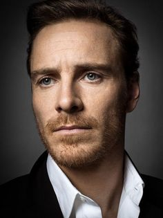 Michael Fassbender. - I have only seen two movies this year and he was in both of them.  Totally coincidence, but still...he's dreamy.  (I also think he would be an amazing James Bond.)