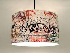 graffiti lamp