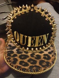 Cheeta print, spikes and it says QUEEN?!? Uhh was this custom made for me???