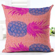 Hawaii Pineapple Pillows - TR