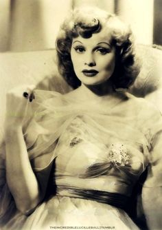 A young Lucille Ball. Beauty.