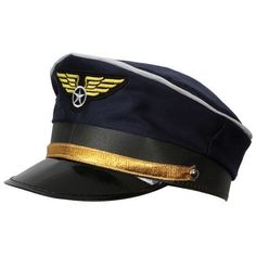 Airline Pilot Hat Accessory for Airline Pilot Fancy Dress in Clothes, Shoes & Accessories, Fancy Dress & Period Costume, Fancy Dress | eBay
