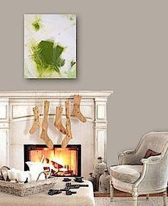 PERiDOT RUSH - original abstract modern painting