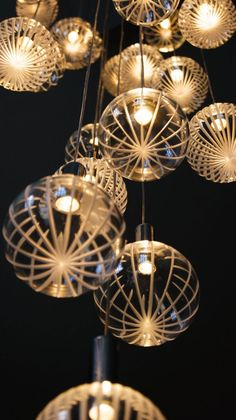 Elements Glass Chandeliers