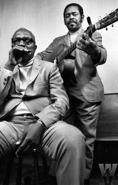 Sonny Terry and Brownie McGhee.