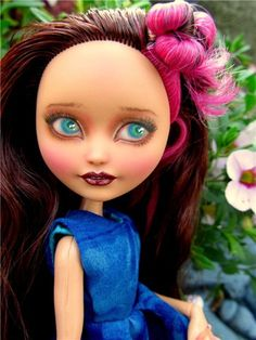Ever After High Doll REPAINT ~Briar Beauty ~ OOAK Custom Repainted Doll by Donna #Mattel Monster High Repaint, Monster High Dolls, Mattel Dolls, Ooak Dolls, Ever After High, Doll Repaint, Custom Dolls, Monsters, Doll Clothes