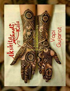 Pretty Henna Designs, Full Mehndi Designs, Mehandhi Designs, Latest Henna Designs, Stylish Mehndi Designs, Bridal Henna Designs, Henna Designs Easy, Dulhan Mehndi Designs, Rangoli Designs