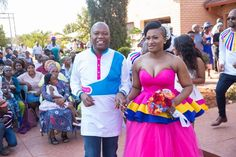 Pedi Traditional Attire, Sepedi Traditional Dresses, African Traditional Wedding Dress, Butterfly Wedding, African Dress, Celebrity Weddings, African Fashion, Designer Dresses, Ball Gowns