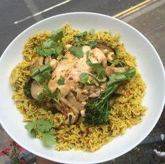 The Body Coach's #TeamTenderstem Lean In 15 Chicken Rice