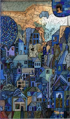Low Lands by Philip Kirk -  pen and ink 2006 12 x 7 inches. CC - some rights reserved