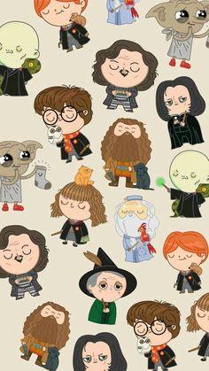 Cartoon Pics Of Harry Potter Harry Potter Characters Re
