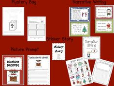 December Literacy Centers for First AND Second Grade (FREEBIE too) Reading Centers, Literacy Centers, Second Grade Freebies, Christmas Language Arts, Library Center, Holidays Around The World, Teaching Time, First Grade, December
