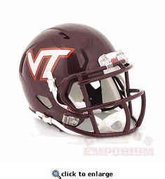 Virginia Tech Mini Replica Football Helmet