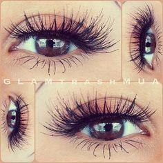 Eye looks for brown eyes