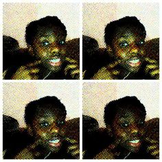 I ♥ this Comic Strip effect on Webcam Toy