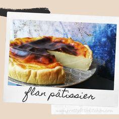 Aujourd'hui, je vous propose une recette de flan pâtissier très simple à faire !  Un flan fondant, crémeux avec un bon goût de vanille mais pas trop sucré, et une pâte croustillante …  Je pense que je pourrais sans problème m'en faire un tout les week-ends tellement j'aime cette recette !! C'est Bon, Hui, Camembert Cheese, Fondant, Dairy, Veggies, Simple, Food, Pastry Custard Recipe