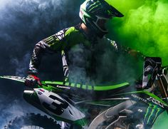 Eli Tomac is going GREEN as he joins Monster Energy & Kawasaki Racing!