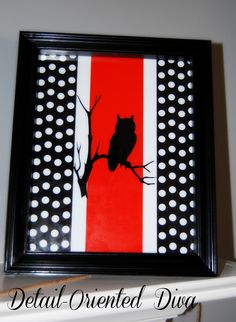 Detail-Oriented Diva!: Halloween Mantel and Printables