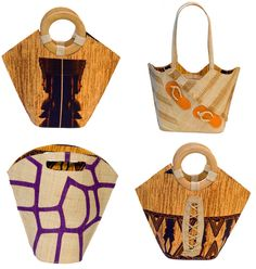 The Well-Appointed Catwalk: Responsible Raffia Handbags by Ma'mitons
