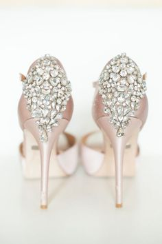 Wedding shoes idea; Featured Photographer: Blush Photography