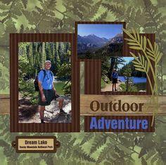 Outdoor Adventure - Scrapbook.com