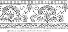 Free Designs for Embroidery from The Antique Pattern Library