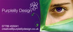 Purplelily Design relaunch teaser ad/email sign off