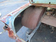 1955 Chevrolet 210 Gasser Rat Rod Drag Car Project 2 Door Post Hot Rod Street for sale: photos, technical specifications, description