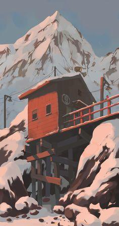 Andrey Osadchikh 柔和溫潤的手繪世界 | ㄇㄞˋ點子靈感創意誌