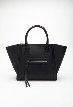 $33 Celine Knock-off Faux Leather Satchel | FOREVER21 - 1000098608