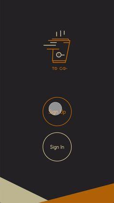 Café Mobile, Menu Mobile, Mobile Logo, Coffee Shop Branding, Coffee Shop Logo, Coffee Shop Design, Web Design, App Ui Design, Logo Design