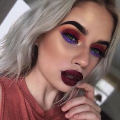 "31.9k Likes, 170 Comments - Lime Crime (@limecrimemakeup) on Instagram: ""Stunning @laurenrohrer wearing RAISIN HELL """