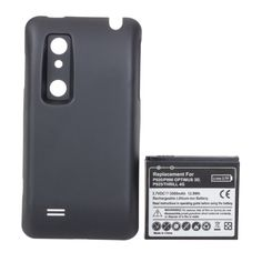3500mAh Battery With Cover For LG P920/P990 OPTIMUS 3D P925 THRILL 4G