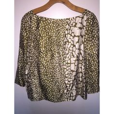 J.Crew 100% Silk Top perfect condition. super soft. make an offer! J. Crew Tops Blouses