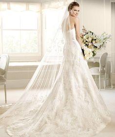 MATILDE » Wedding Dresses » 2013 Costura Collection » La Sposa (back)