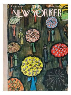 The New Yorker, March (Cover art by Abe Birnbaum) The New Yorker, New Yorker Covers, Art And Illustration, Capas New Yorker, Cover Art, Magazine Art, Magazine Covers, Poster Prints, Art Prints