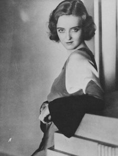 Bette Davis, 1930s...in 1949, she negotiated a four-film contract with Warner Bros., which paid $10,285 per week and made her the highest-paid woman in the United States
