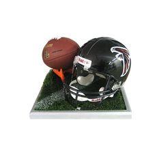 Football centerpiece customize team | Football props to rent | Shag Carpet Prop Rentals | Dallas, TX Football Centerpieces, Football Helmets, Football Decor, Shag Carpet, Dallas, Soccer Decor