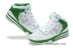 599652494cf7 Jordan Phase 23 Hoops Ray Allen Home PE White Court Green Basketball Shoes