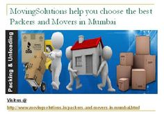 packers and movers mumbai @