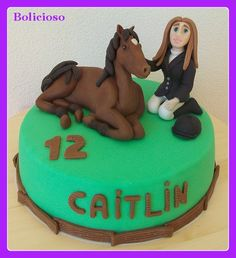 taart ruiter & paard / cake rider & horse / https://www.facebook.com/bolicioso